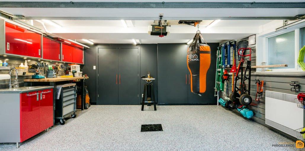 Garage renovation ahuntsic construction precellence